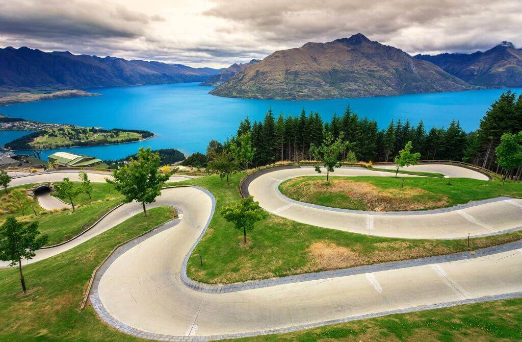 Queenstown luge course