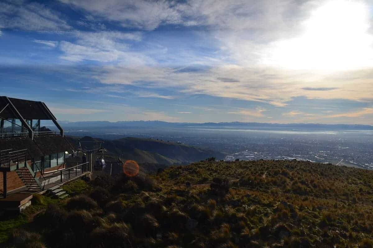 Summit view - things to do in Christchurch