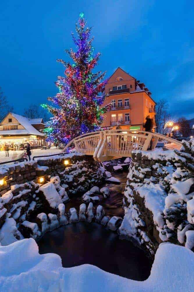 Zakopane Christmas - white christmas destination