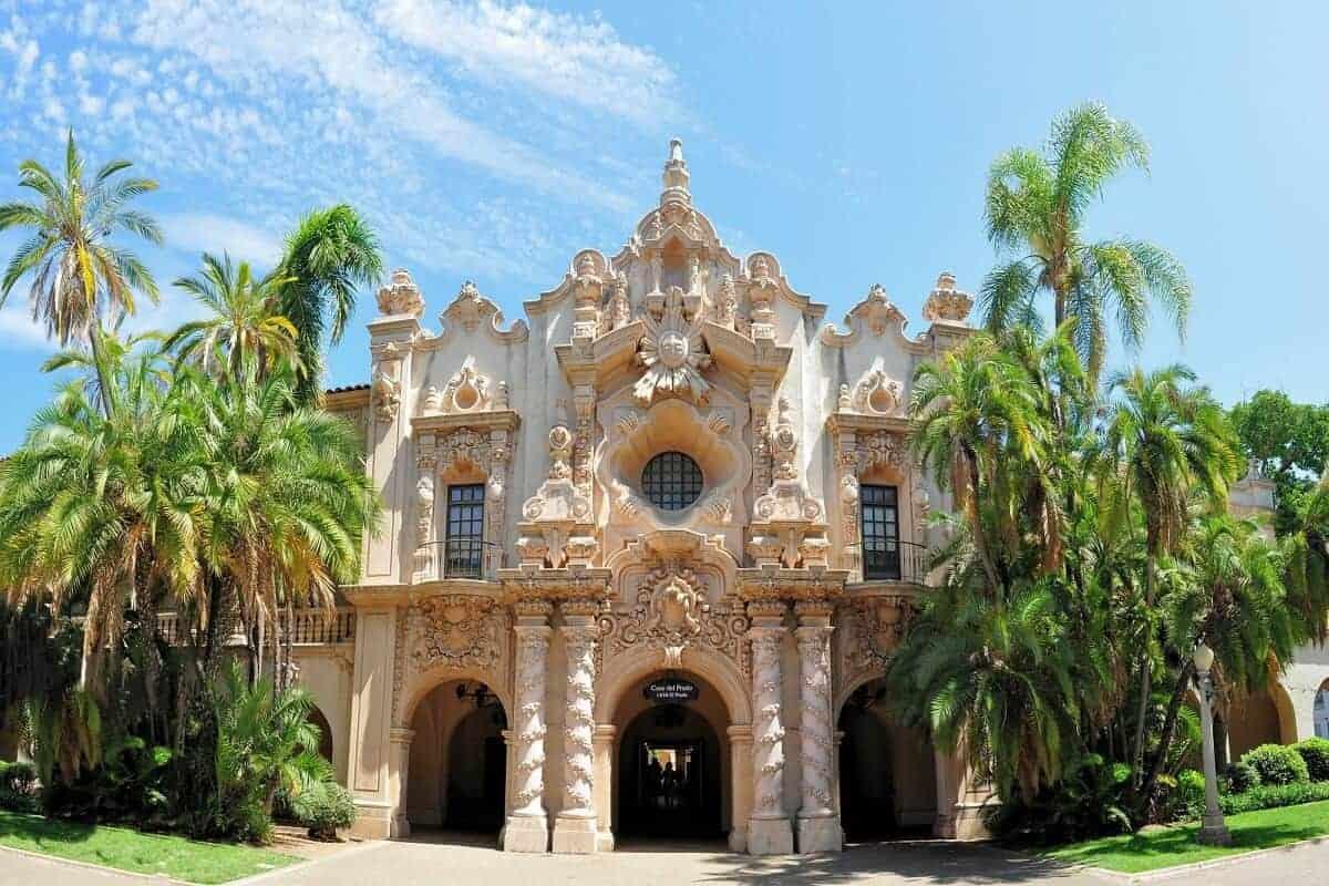 Balboa park San Diego spanish inspired building