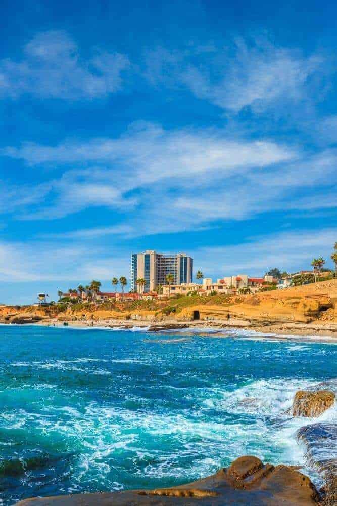 La Jolla san diego coastline