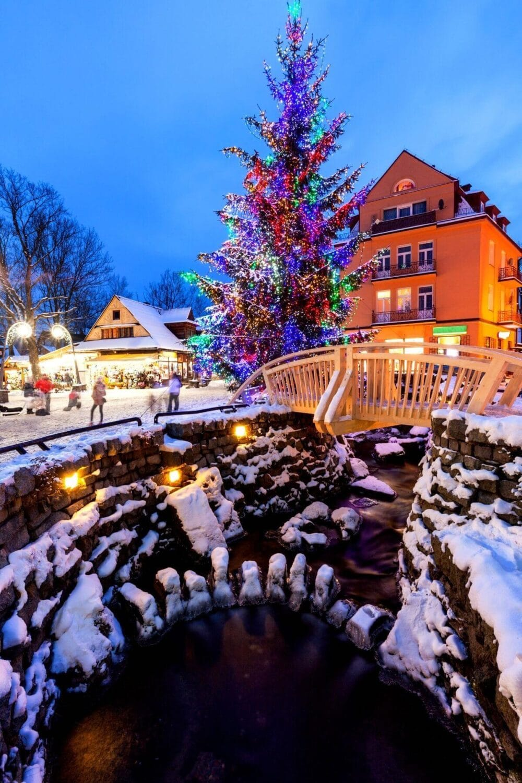 white christmas destinations zakopane poland