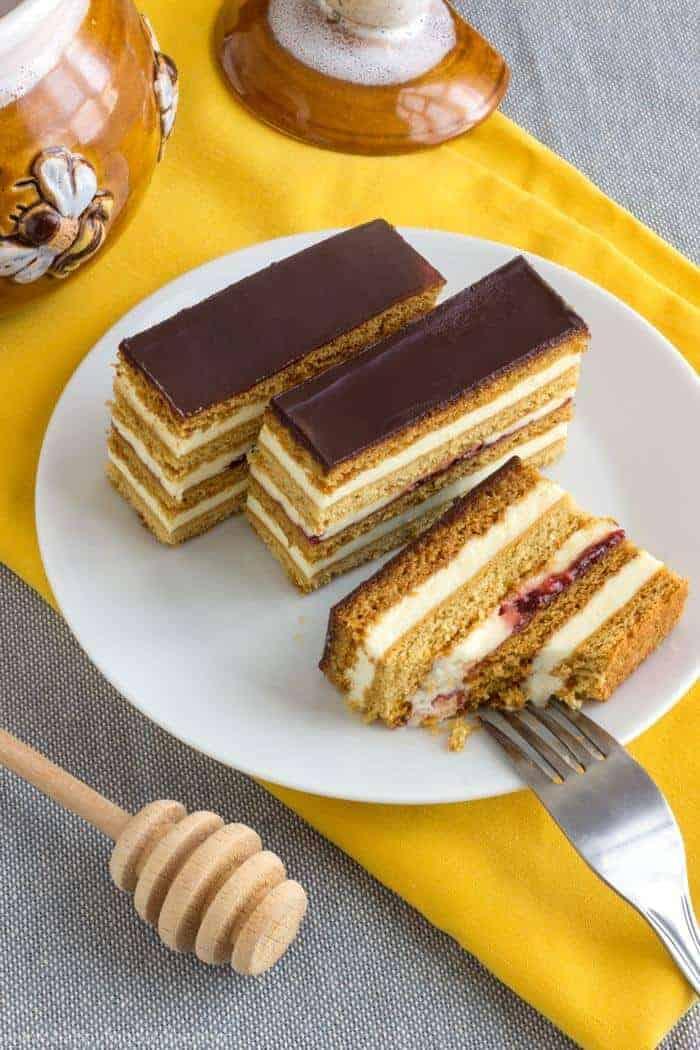 Slovakian honey cakes