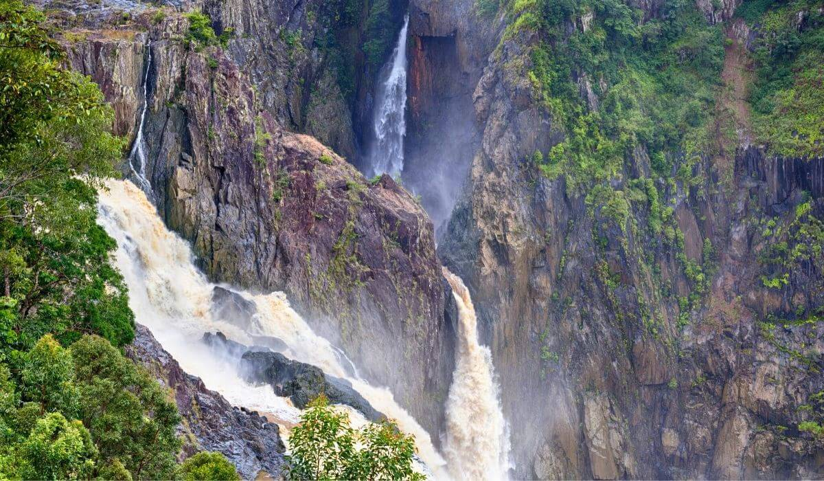 barron falls day trip from cairns