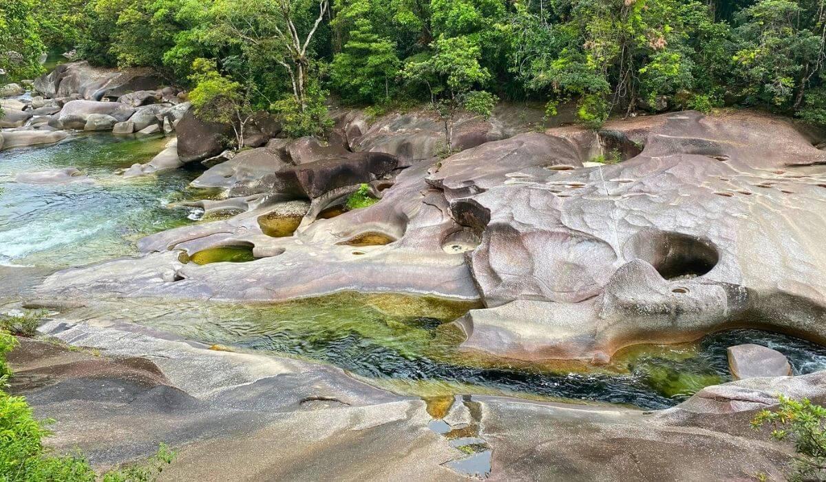 devils pool babinda boulders