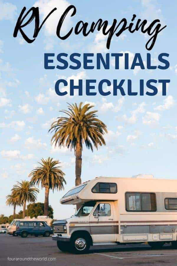 RV camping checklist essentials