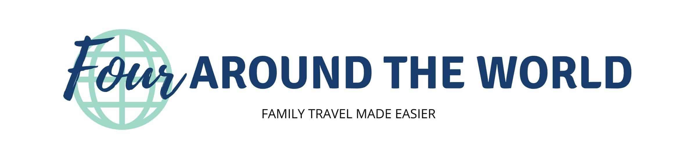 Four Around the World family travel blog banner