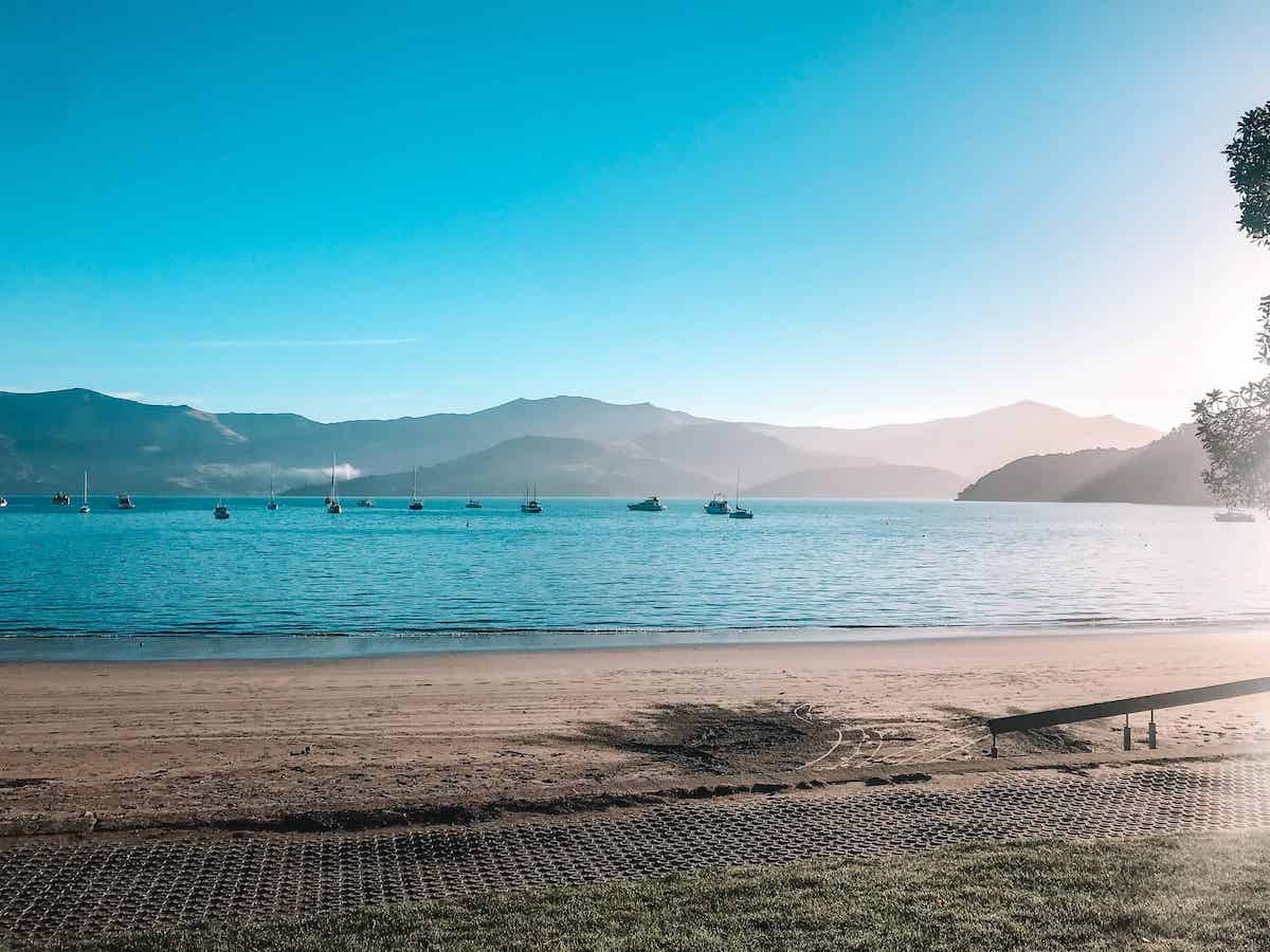 akaroa harbour