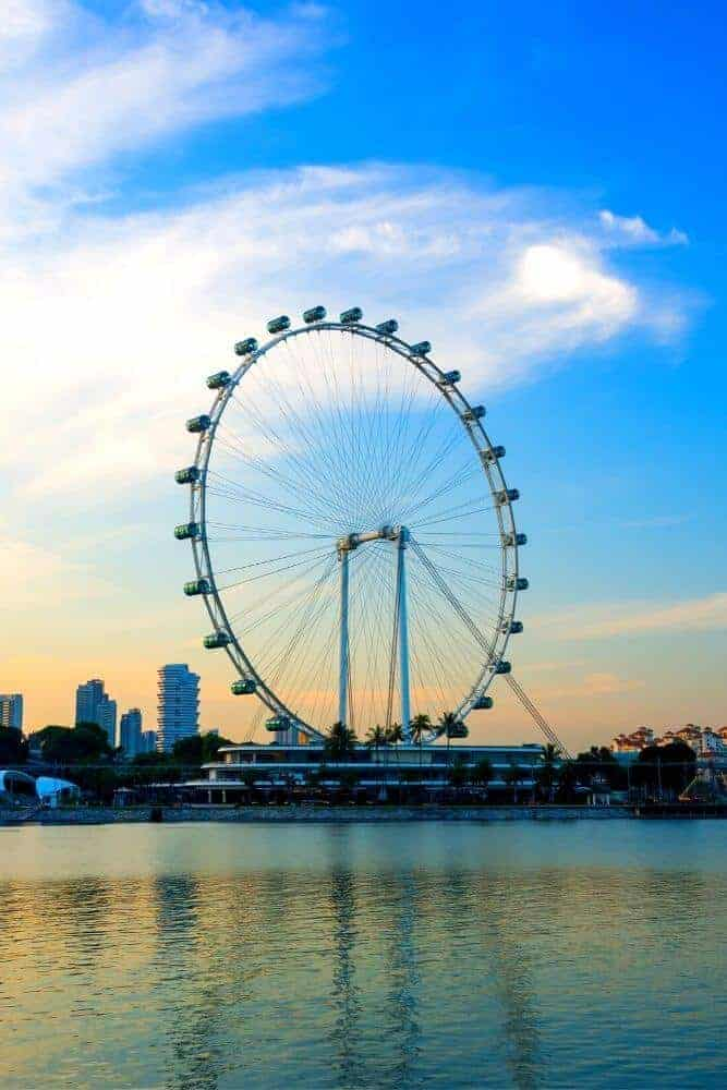 Singapore flyer things to do