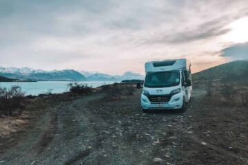 Lake Tekapo Private Campsite Wilderness Campervan