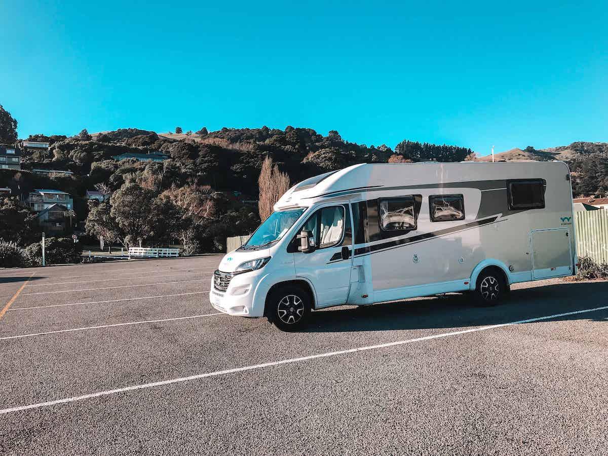 akaroa freedom camping site