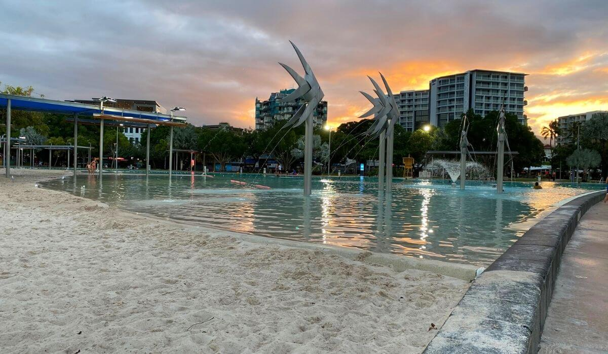 cairns lagoon and esplanade