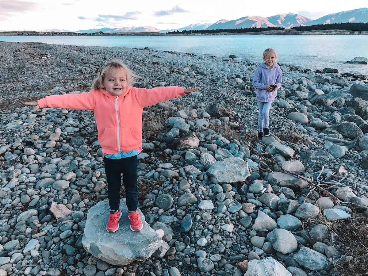 Lake Pukaki Reserve South Island Freedom campgrounds