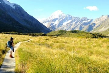 new zealand south island walks and day hikes