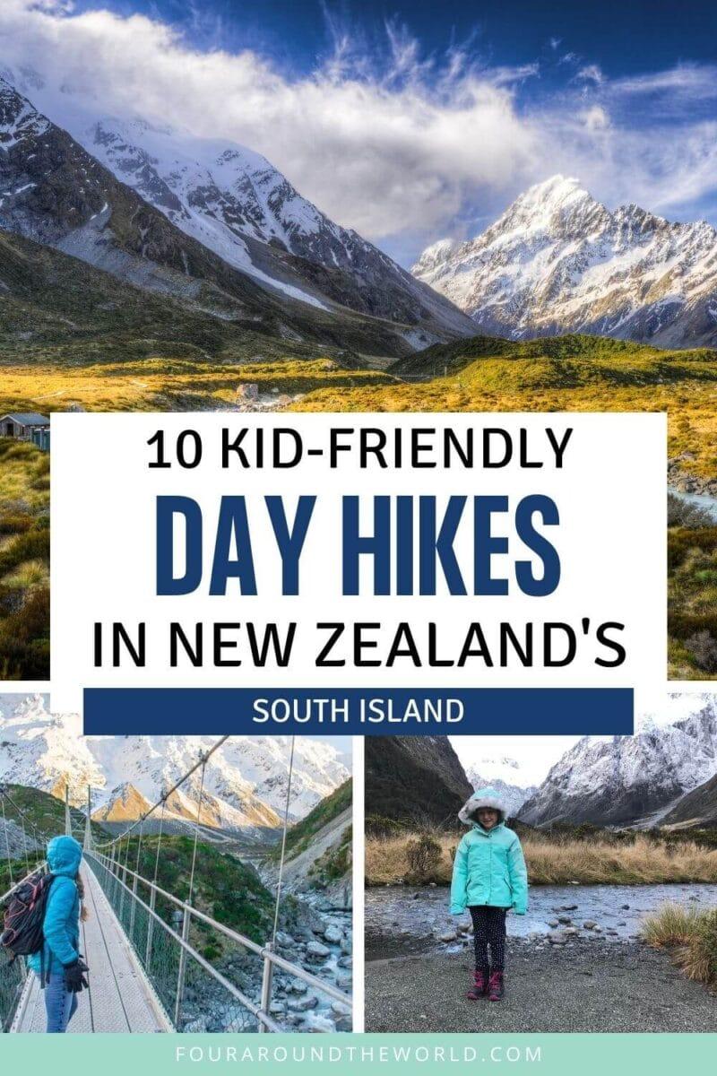 Easy New Zealand South Island Walks & Hiking Trails