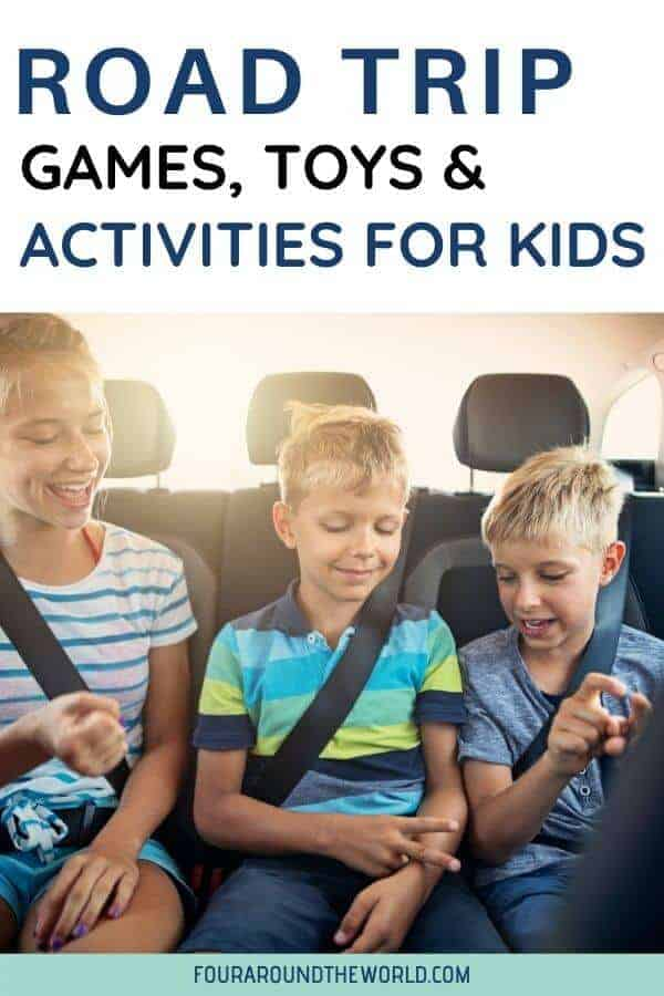 road trip activities for kids road trip games