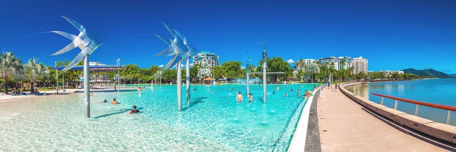 Things to do in Cairns with kids lagoon