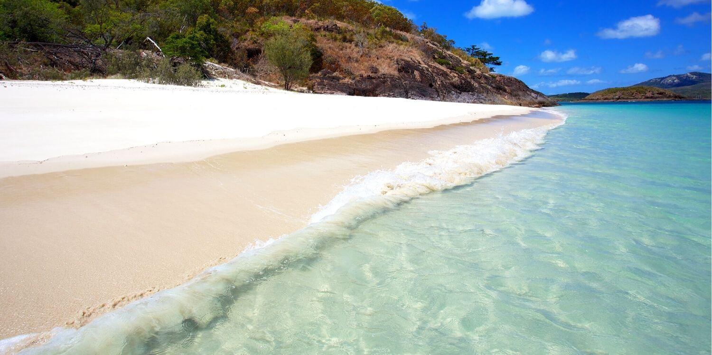 best beaches in queensland - whitehaven