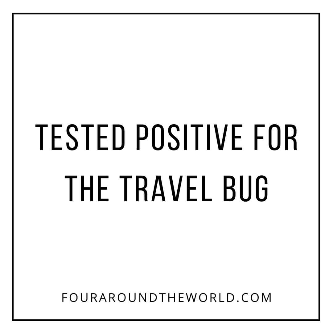 tested positive for travel bug