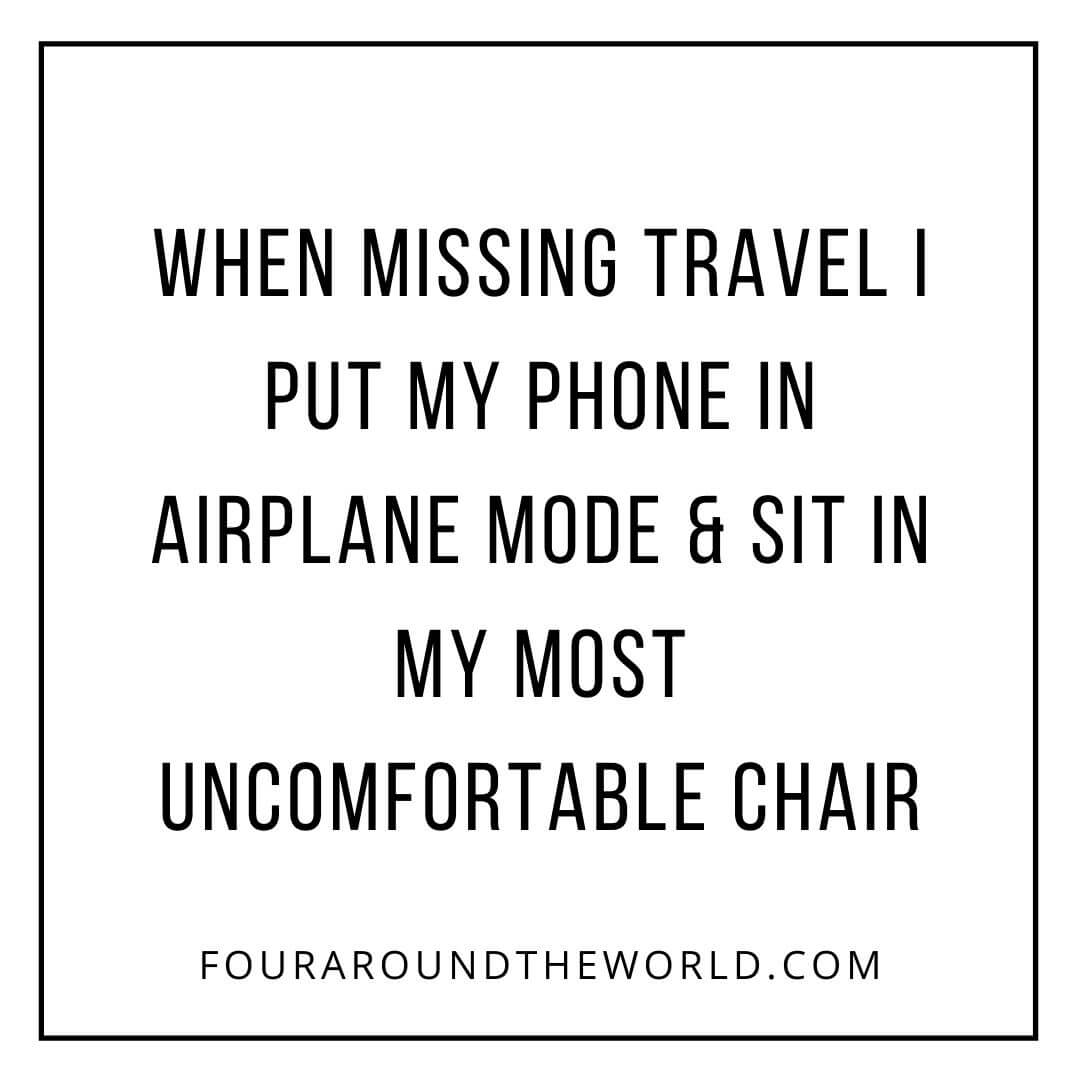 travel quote airplane mode
