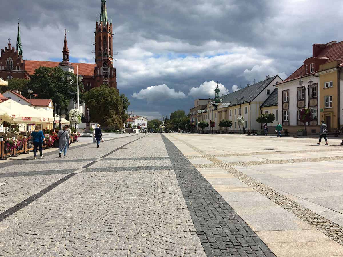 bialystok poland town square