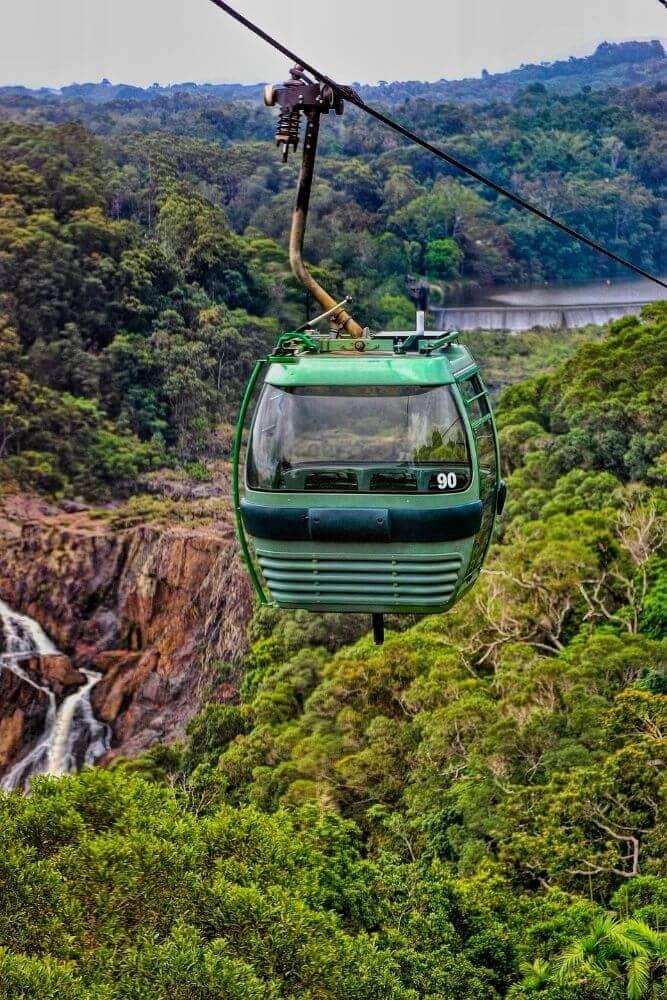 kuranda skyrail rainforest cablecar