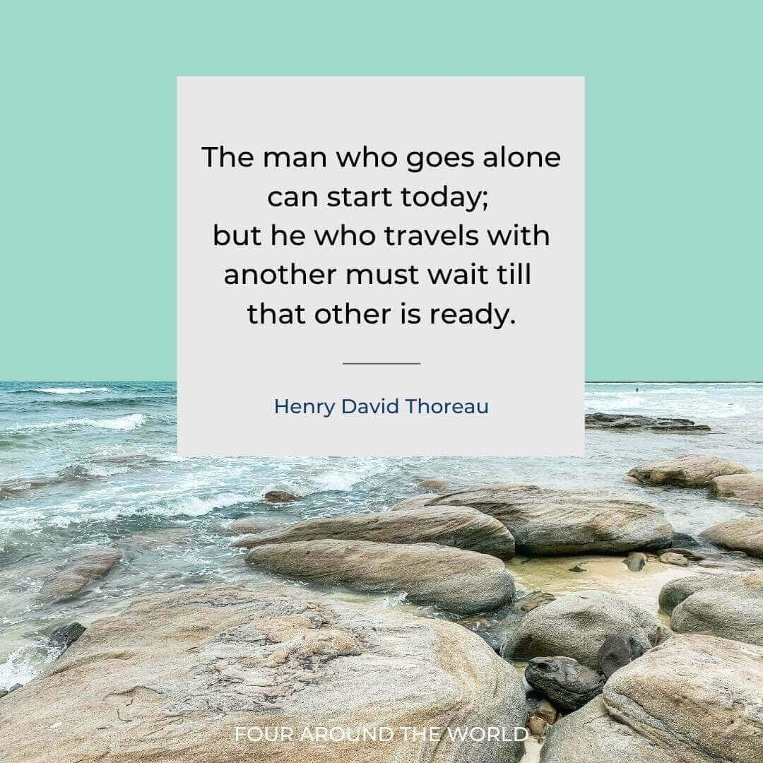 inspirational travel quote image