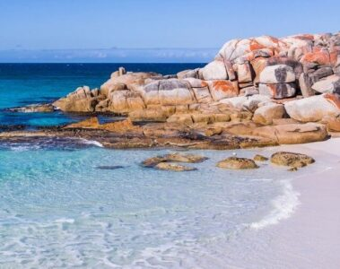The best beaches in Tasmania Australia bay of fires