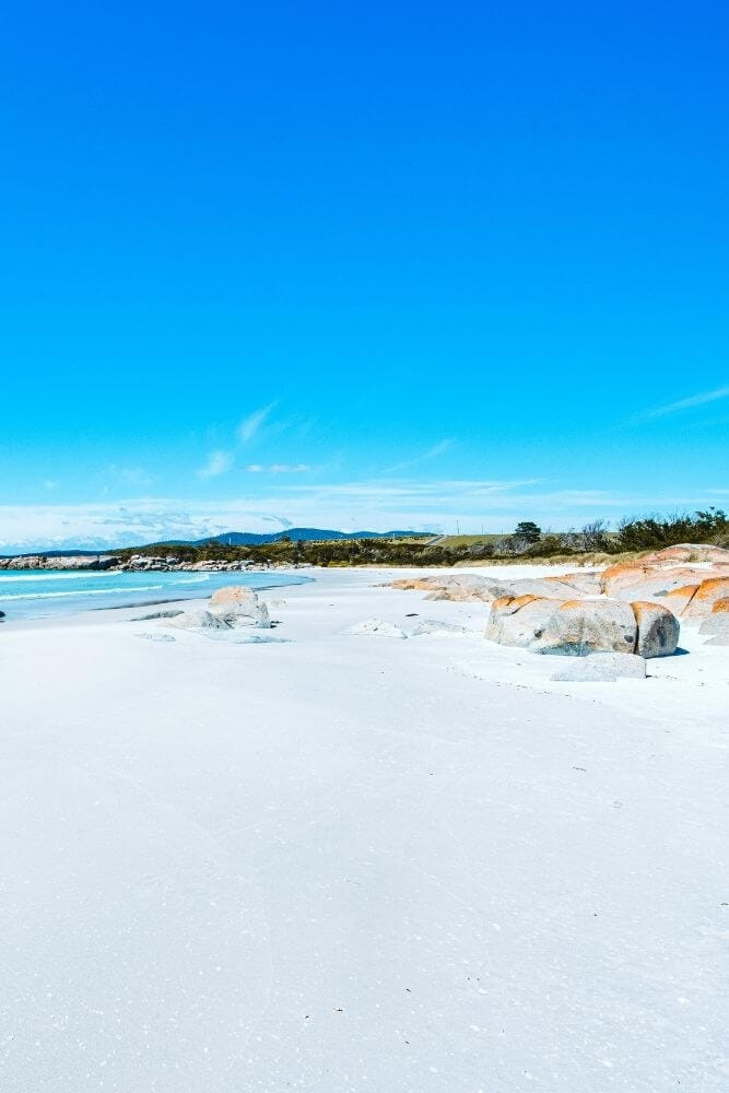 The best beaches in Tasmania bay of fires