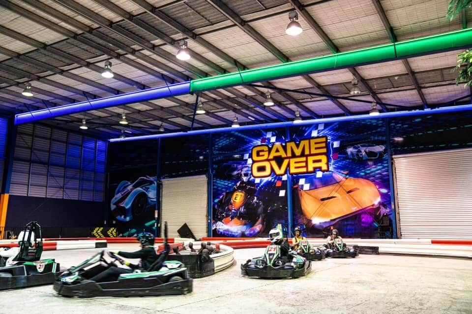 game over auckland go karting