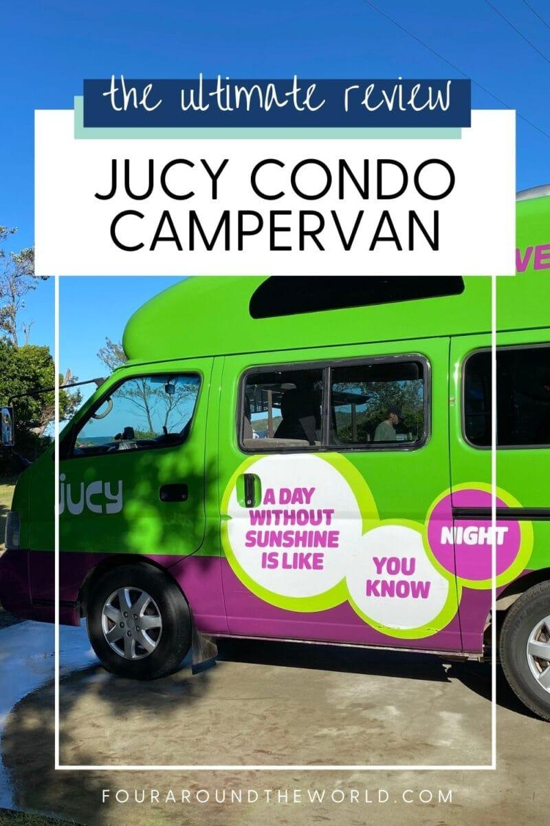 jucy condo campervan review