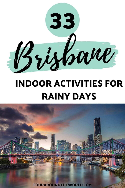 rainy day activities in brisbane