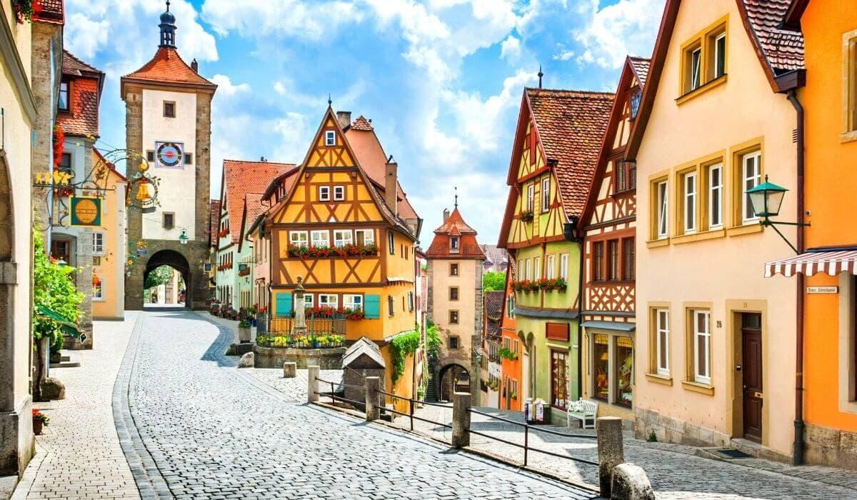 Europe travel guide Germany rothamburg