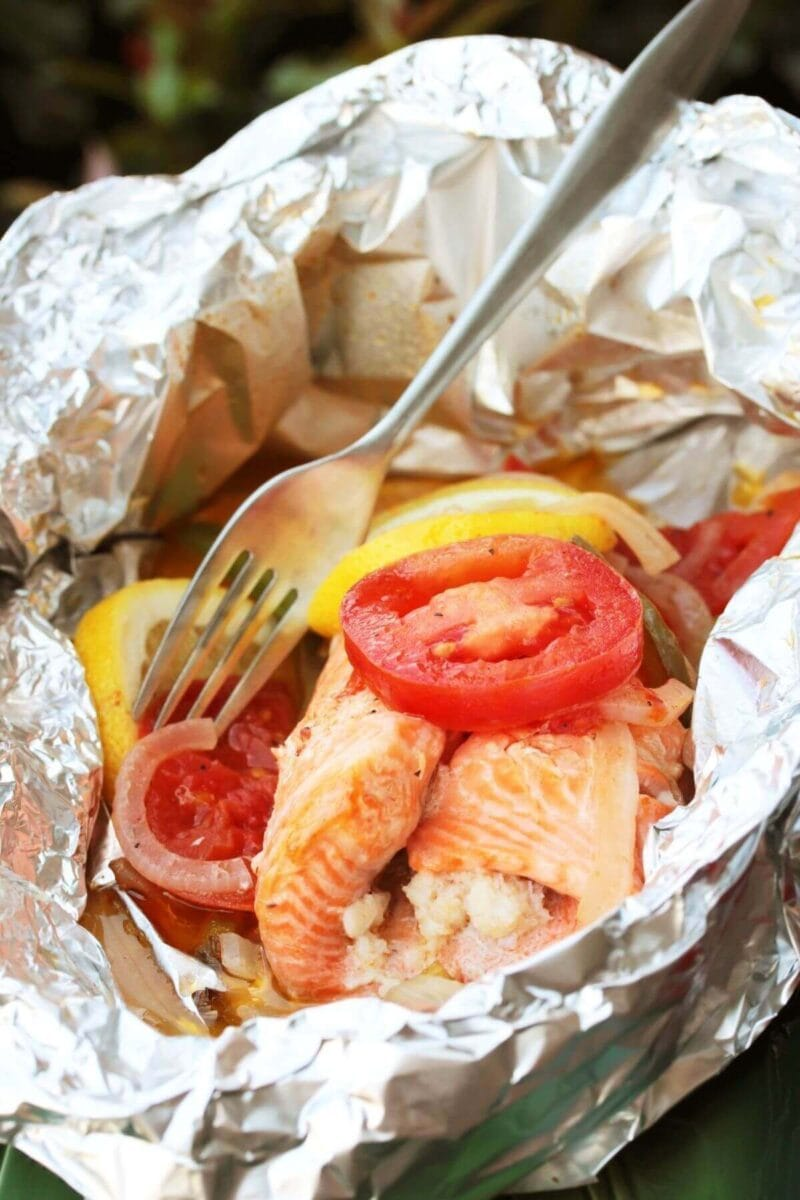 tin foil packet recipes for camping