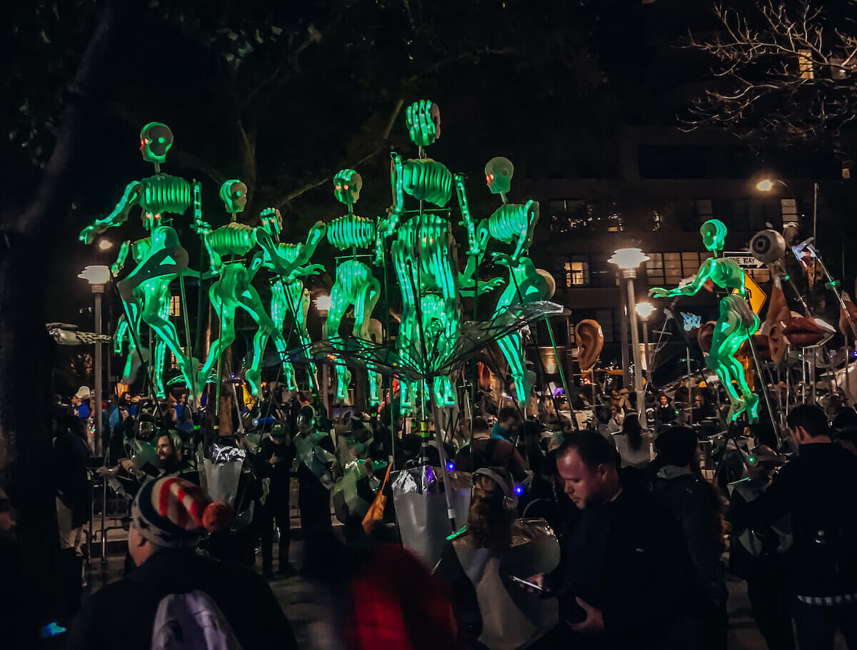 new york city halloween parade
