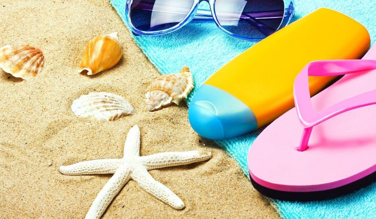 family beach packing list