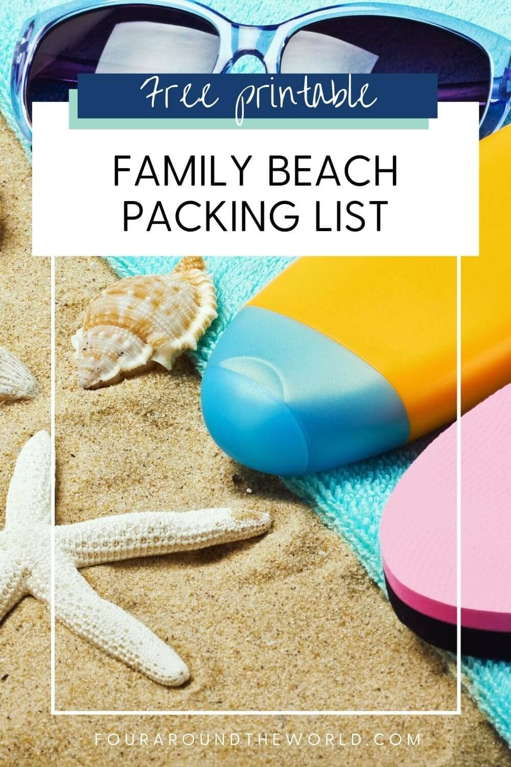 ultimate family beach packing list