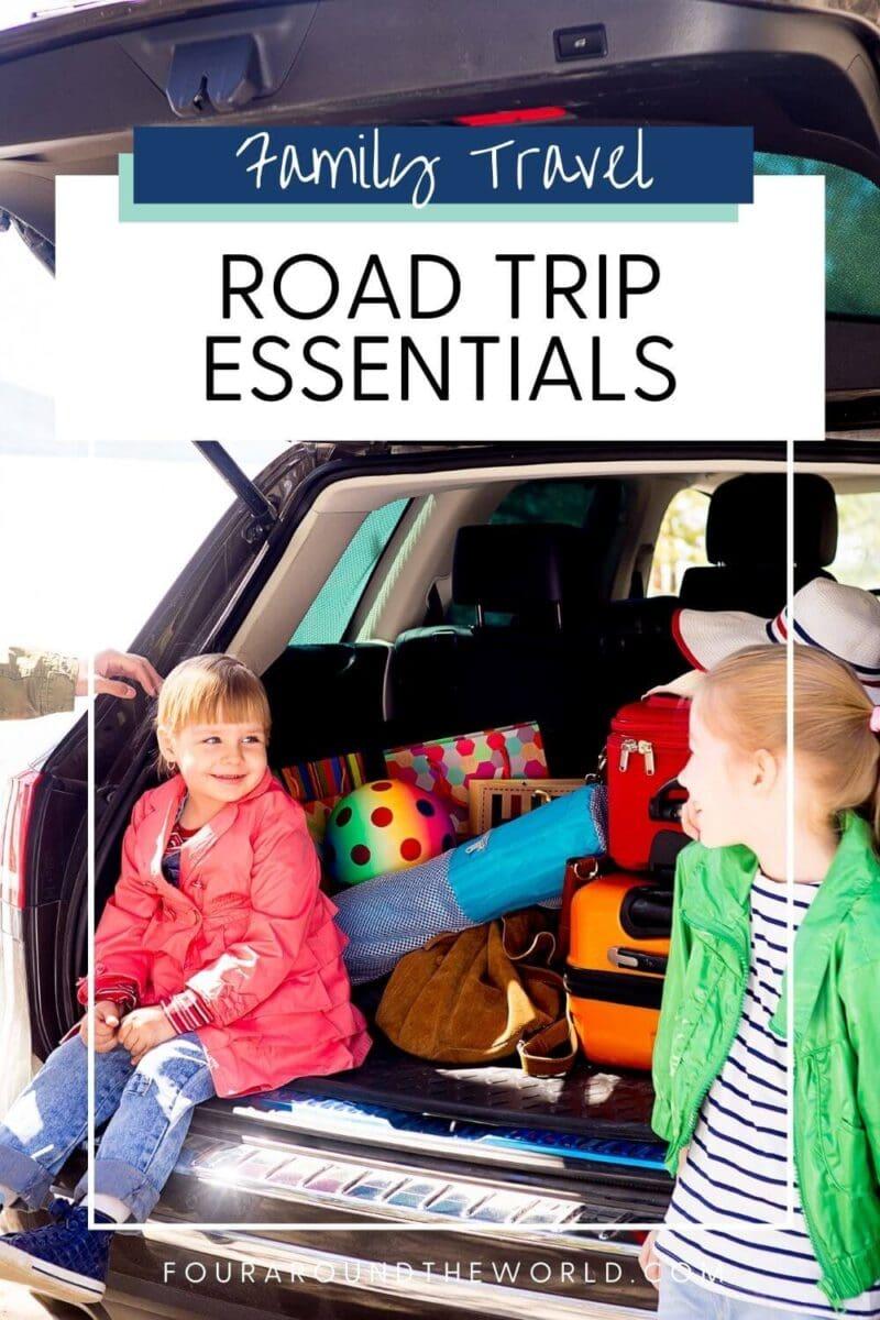 road trip essentials packing list