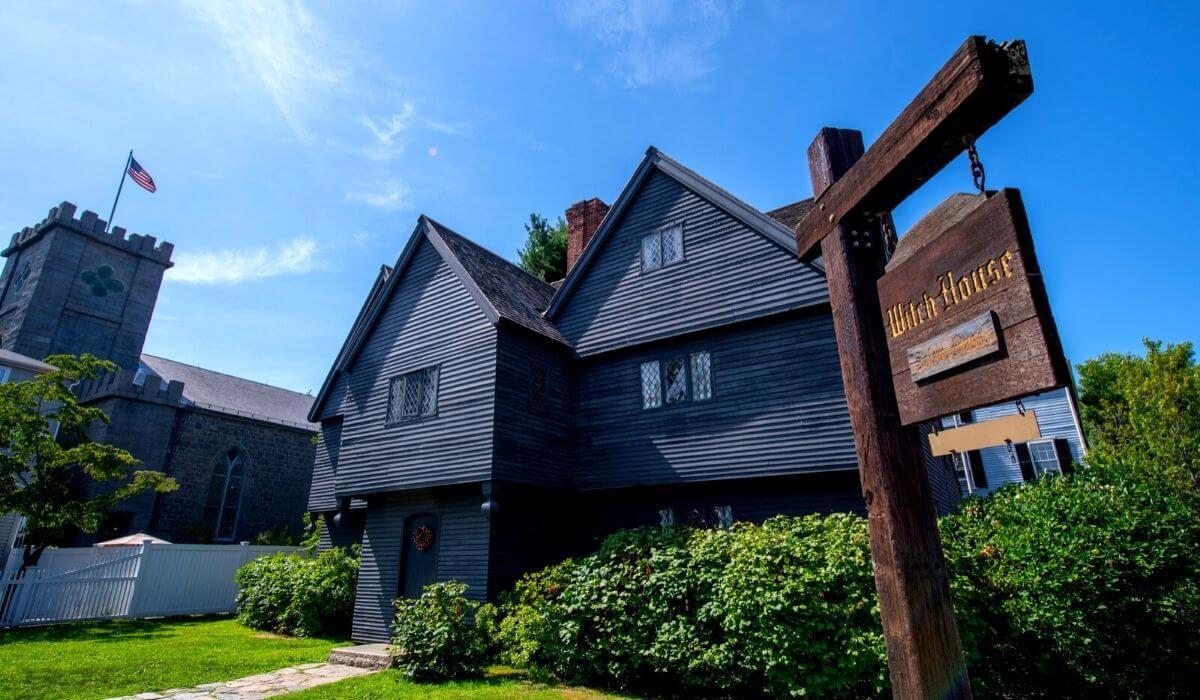 Salem Massachusetts witch house