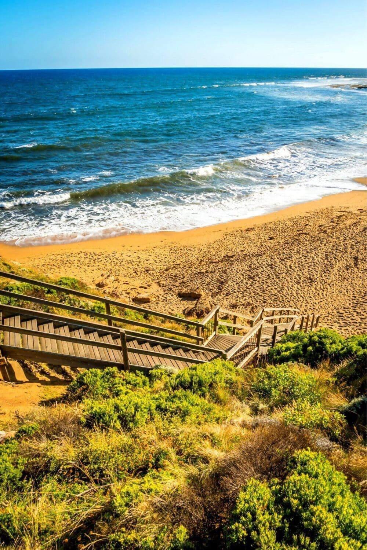bells beach walkway