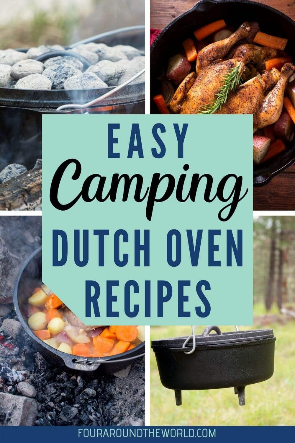 Easy Dutch oven recipes for camping
