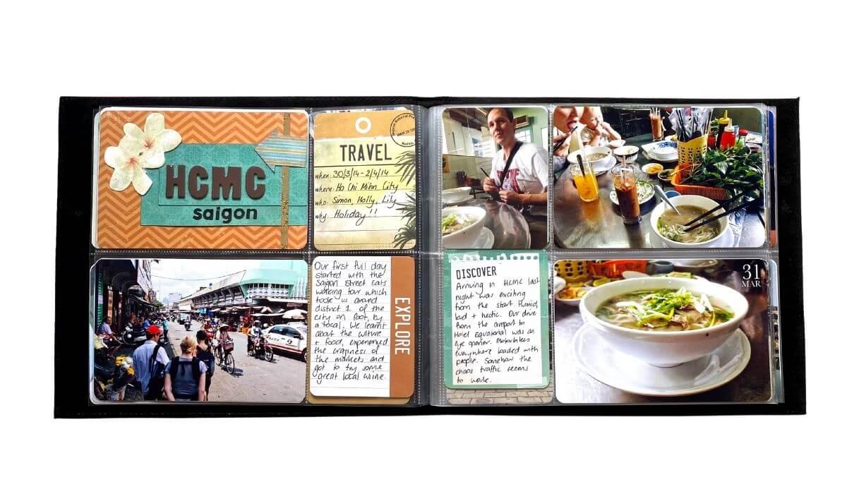 travel project life album