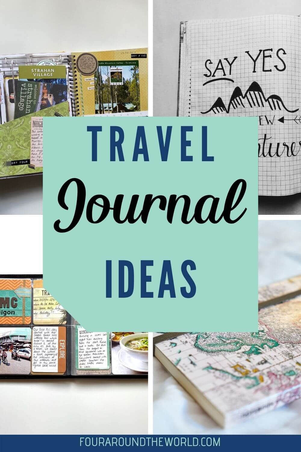 the best travel journaling ideas and tips for getting started
