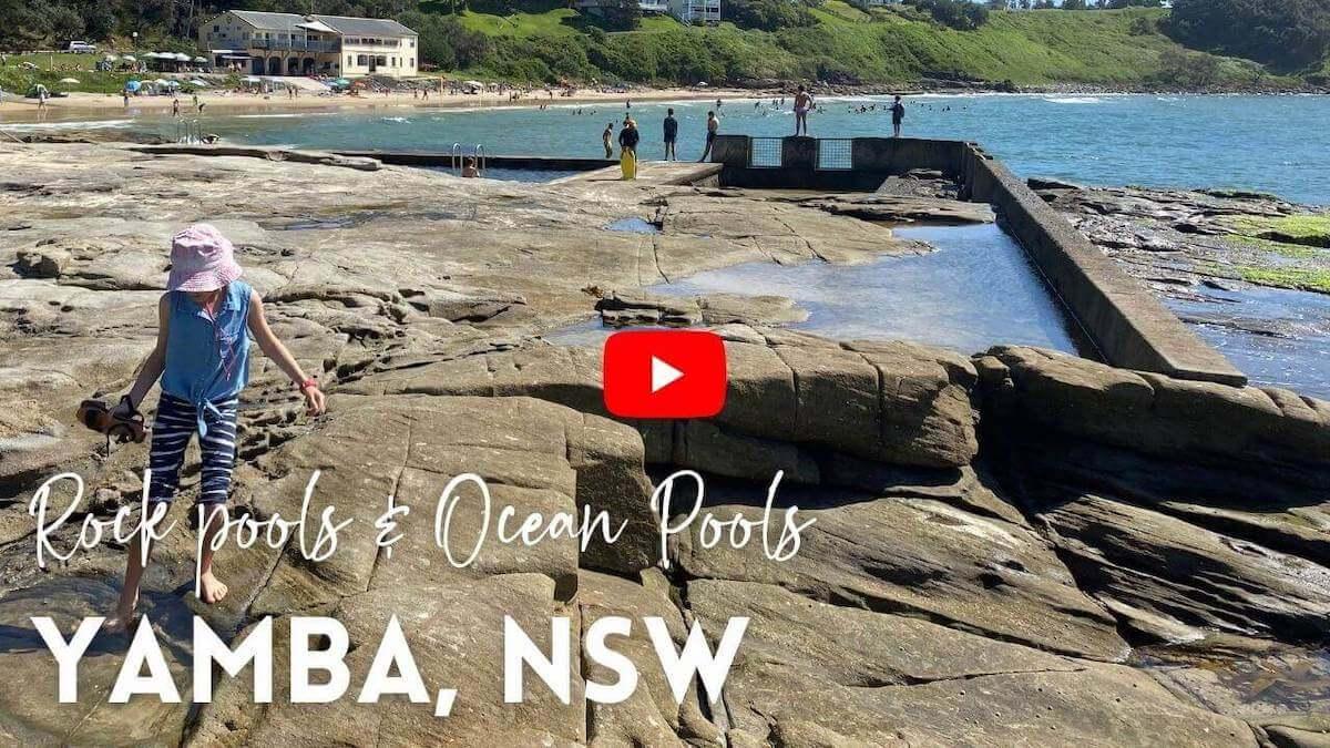 Yamba ocean pool and yamba rock pools youtube