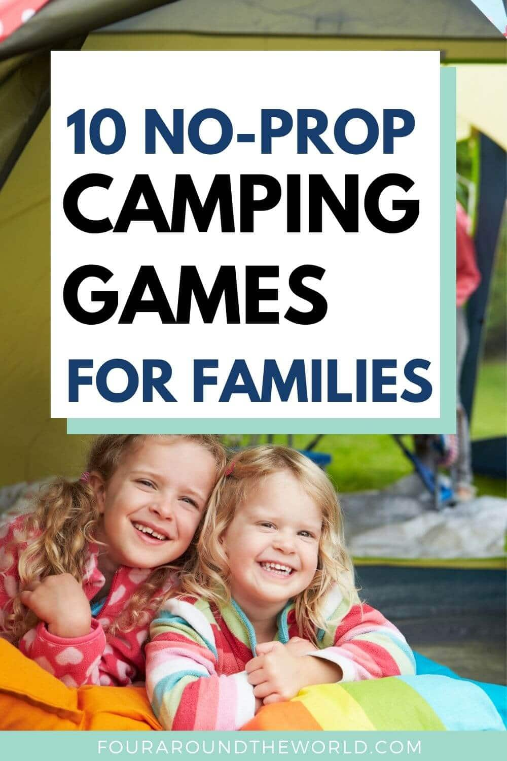10 fun camping games for families