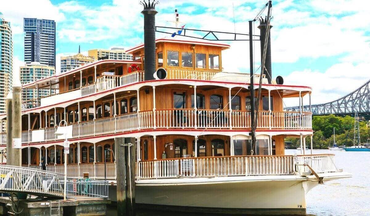 Kookaburra River Queen Brisbane River Cruise