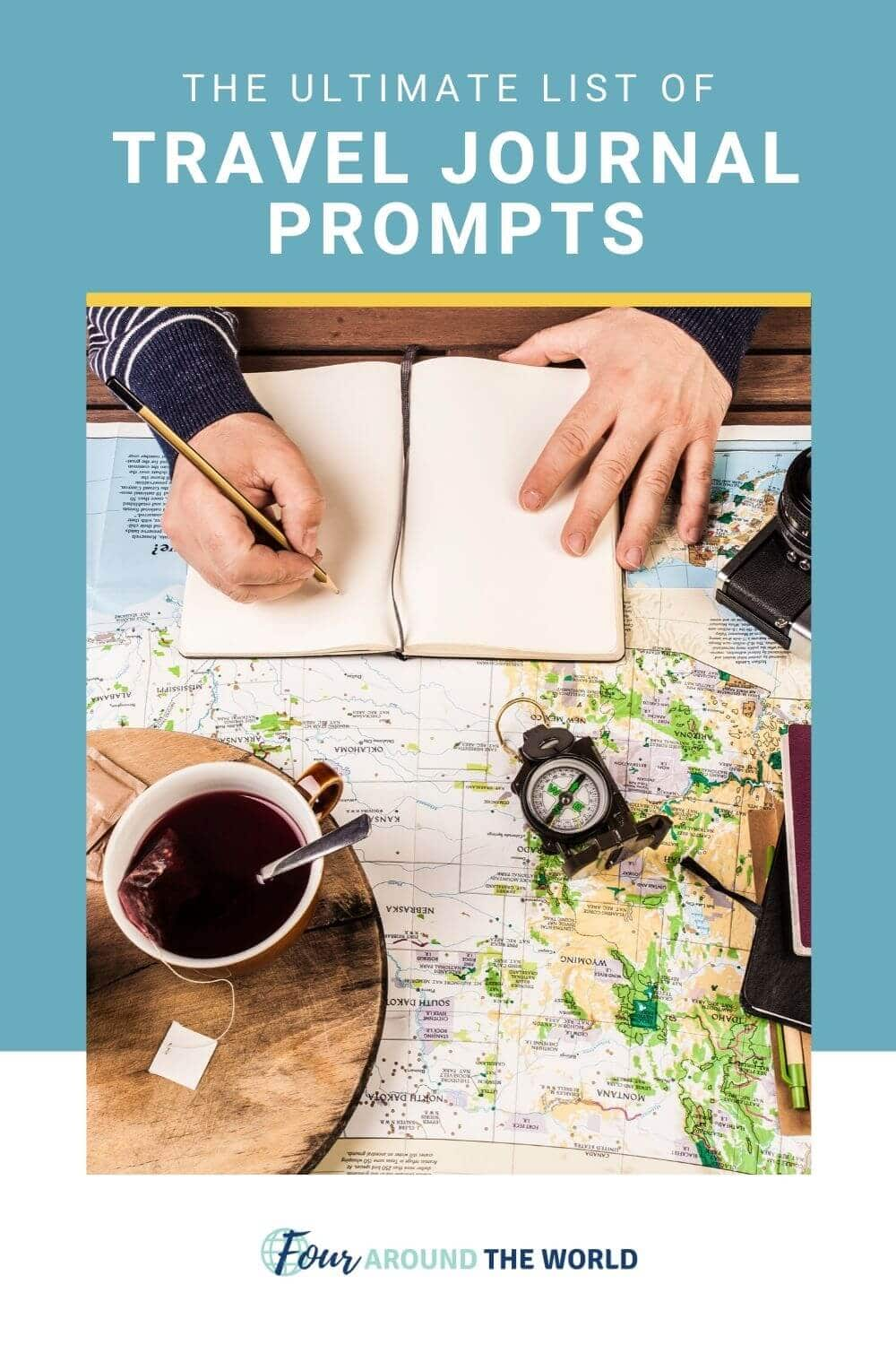 travel journal prompts