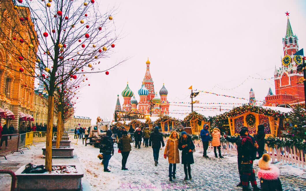moscow christmas markets
