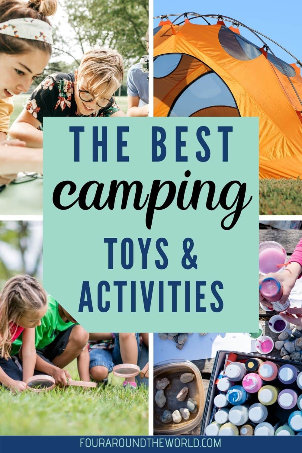 Best camping toys and activities
