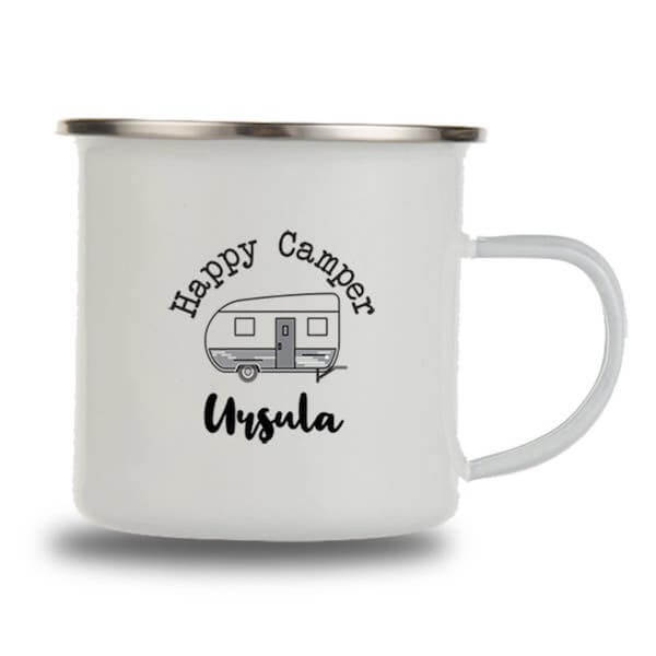 personalised camping mug
